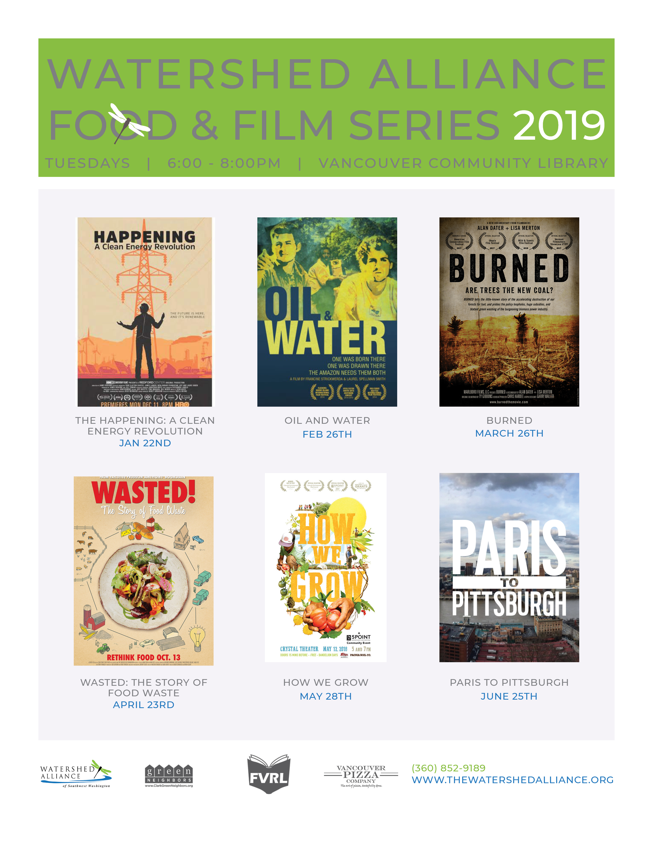 Film Series – Vancouver Watersheds Alliance
