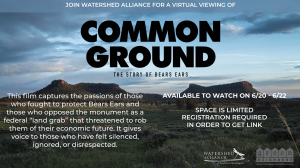 Film Series 2021: Common Ground - The Story of Bears Ears